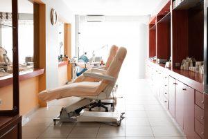Αίθουσα για μεσοθεραπεία σώματος στο κέντρο αισθητικής Medi B in Beauty στις Σέρρες