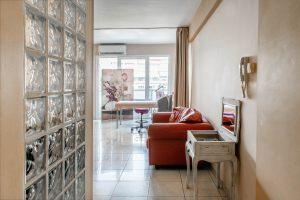 Αίθουσα για τις θεραπείες σύσφιξης προσώπου στο κέντρο αισθητικής Medi B In Beauty στις Σέρρες